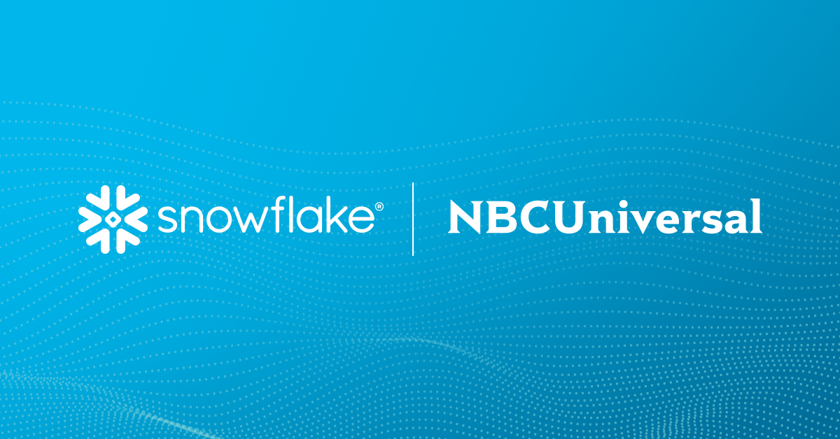 Enabling the Future of Cross-Cloud Data Collaboration with Snowflake Data Clean Rooms and NBCUniversal