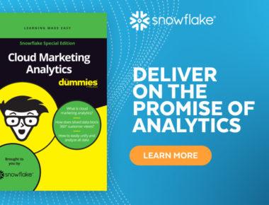 Cloud Marketing Analytics for Dummies