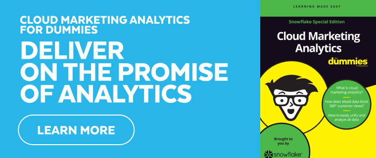 Cloud Marketing Analytics for Dummies Guide